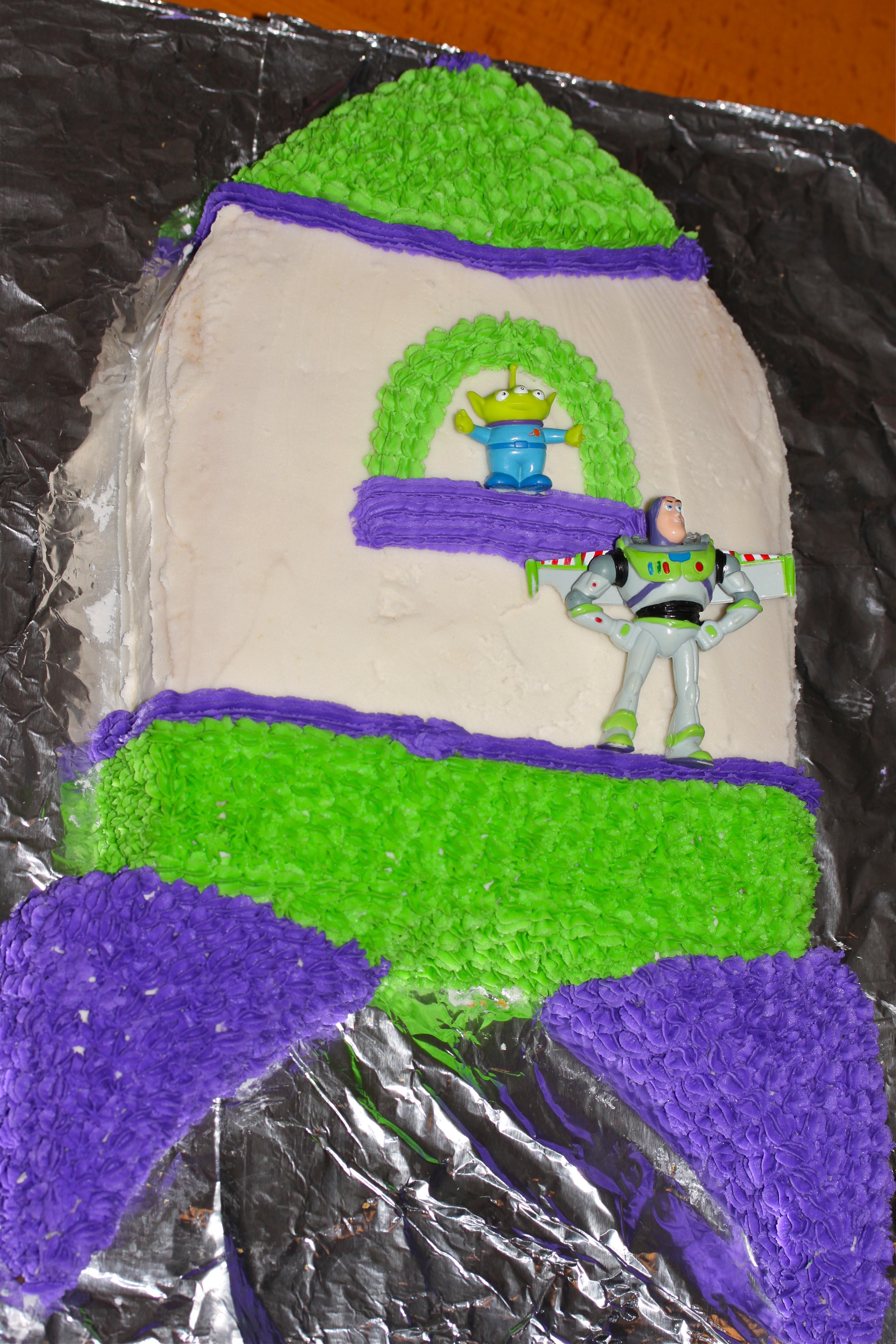 Disney Parties Buzz Lightyear Space Ranger Cake
