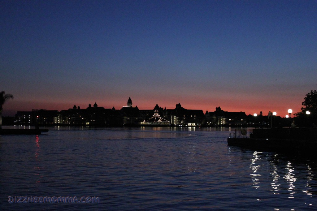 A Grand Floridian Sunset