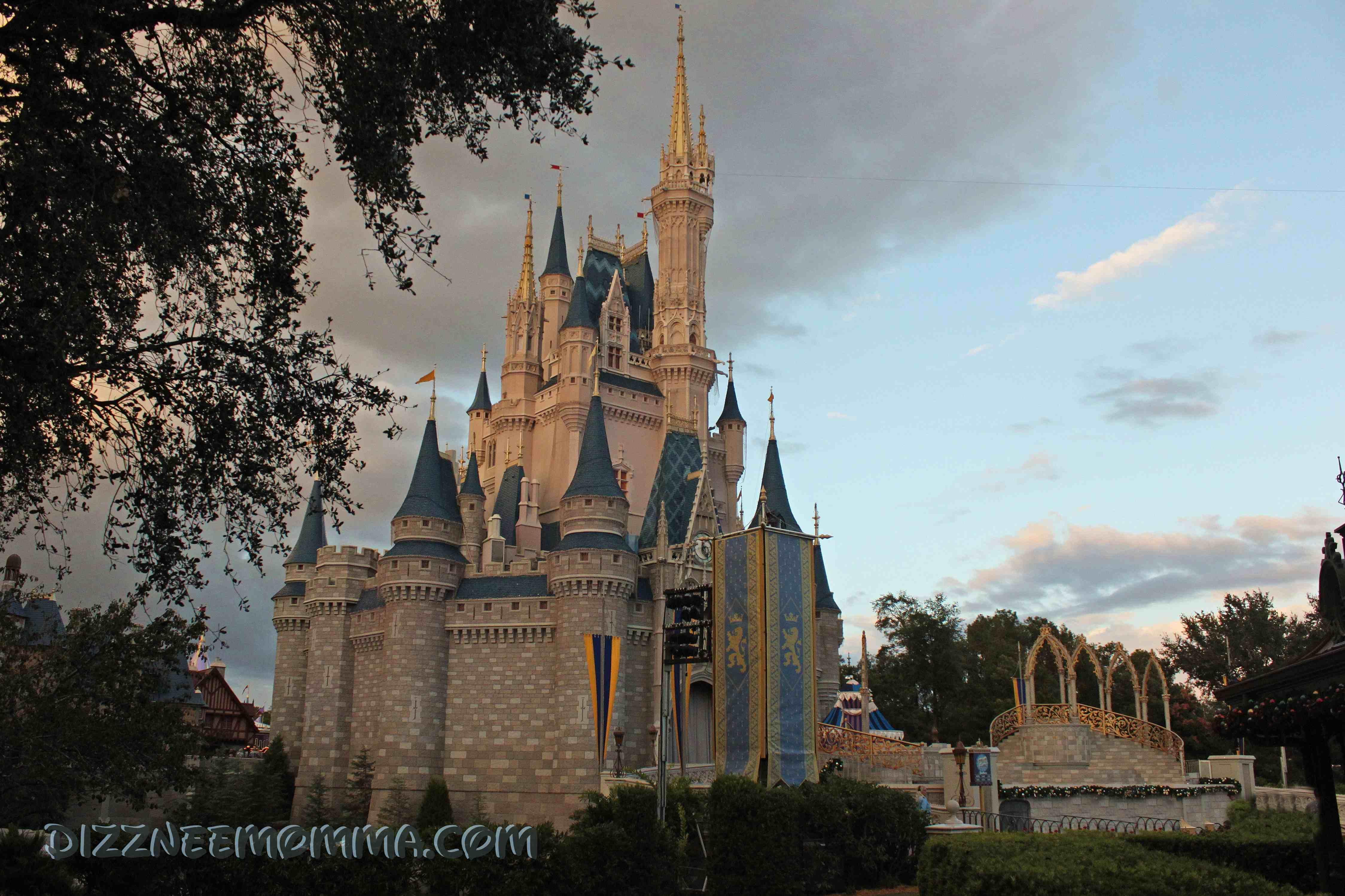 Cinderella's Castle at Walt Disney World Resort in Florida