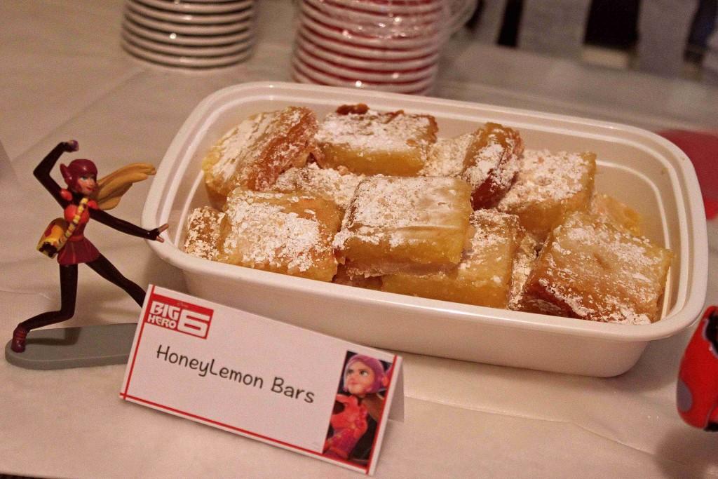 Yummy Honey Lemon Bars